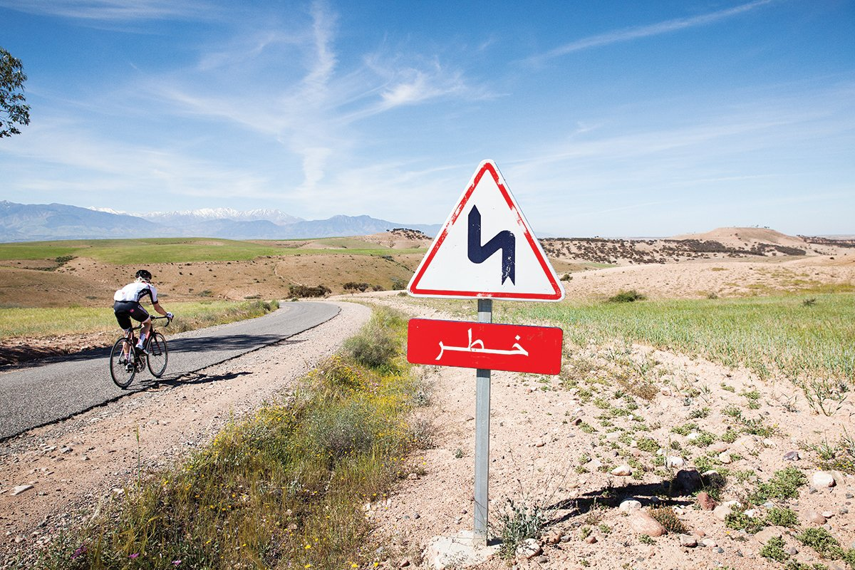 Big Ride: Atlas Mountains, Morrocco pictures   Cyclist