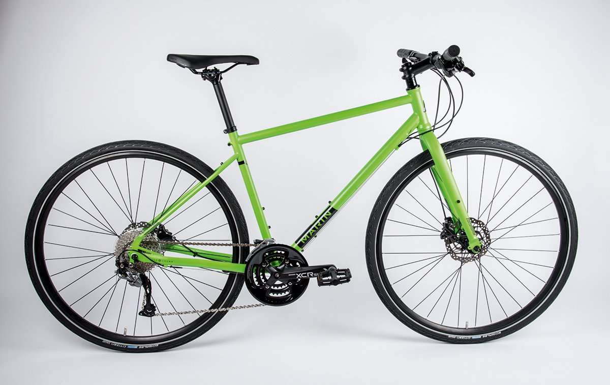 Bargain Hybrid Bikes Marin Muirwoods Review Cyclist