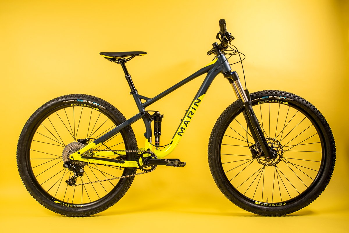 Marin Rift Zone 2 Full Suspension Mtb Review Cyclist