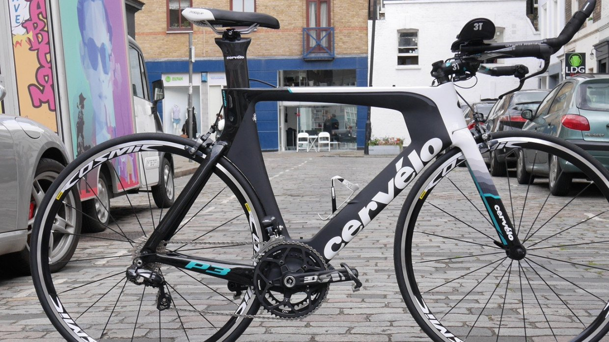 First Ride Review Cervelo P3 Time Trial Bike Cyclist