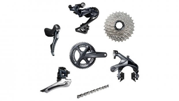 Optimise your cycling performance with Shimano's latest groupset offering.  Combining electronic and mechanical features, the Ultegra R8000 11 Speed  groupset ...