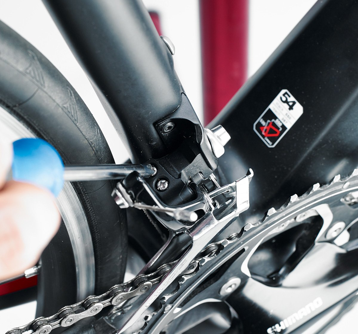 front derailleur adjustment - how to adjust bike gears in six easy steps |  cyclist