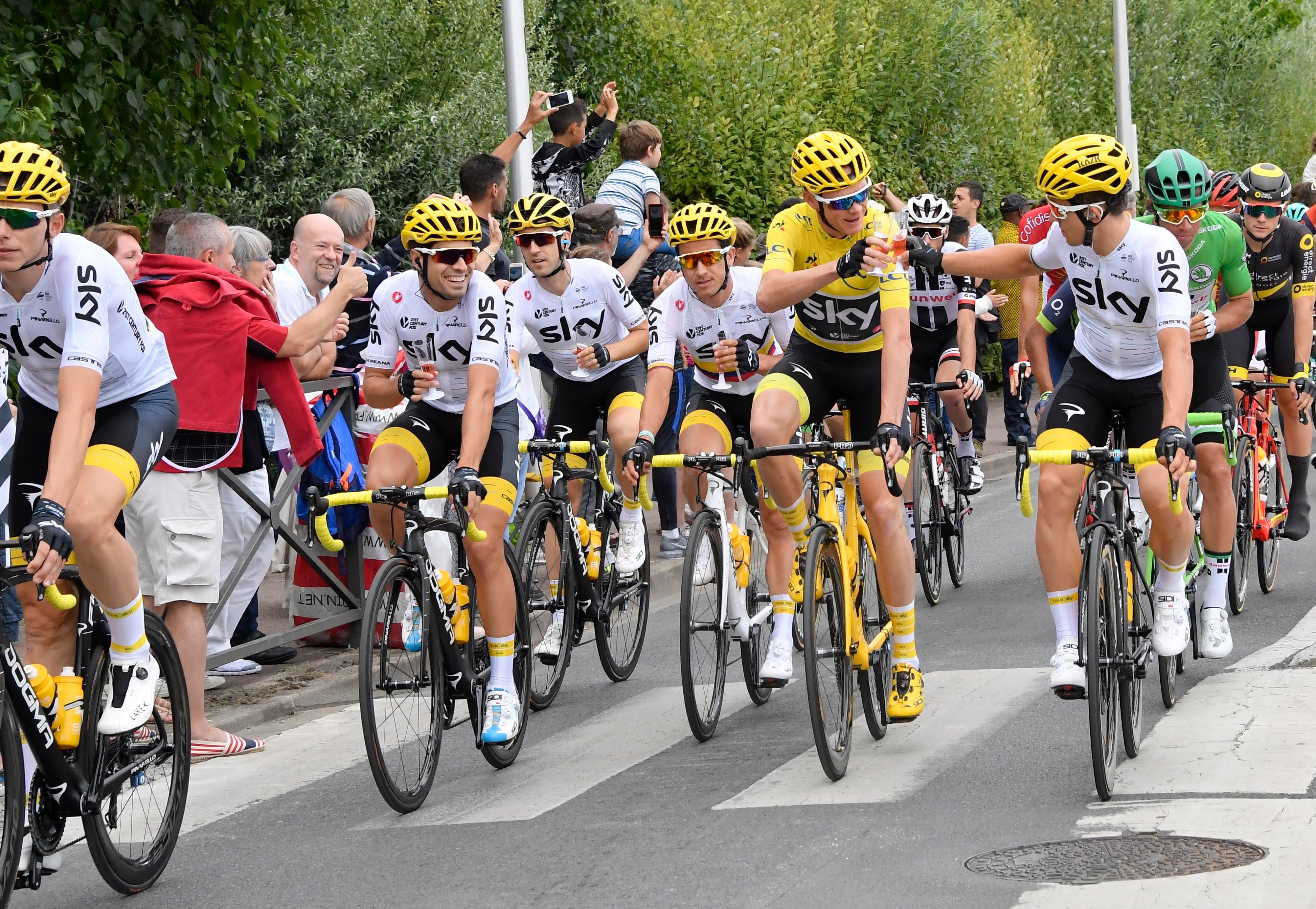 156486cf8 Team Sky reveal operating cost of £31 million for 2016