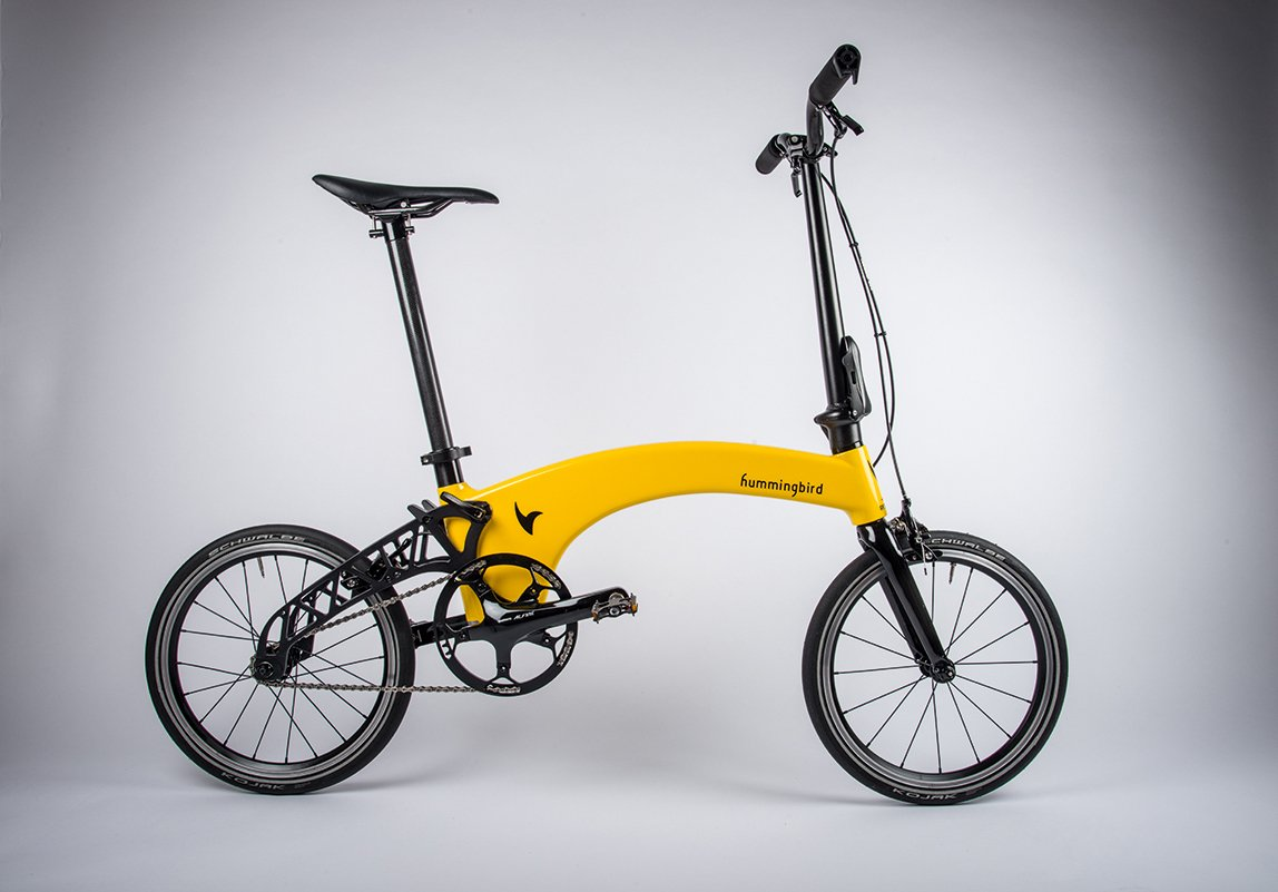 Hummingbird Folding Bike Review And Factory Visit 2