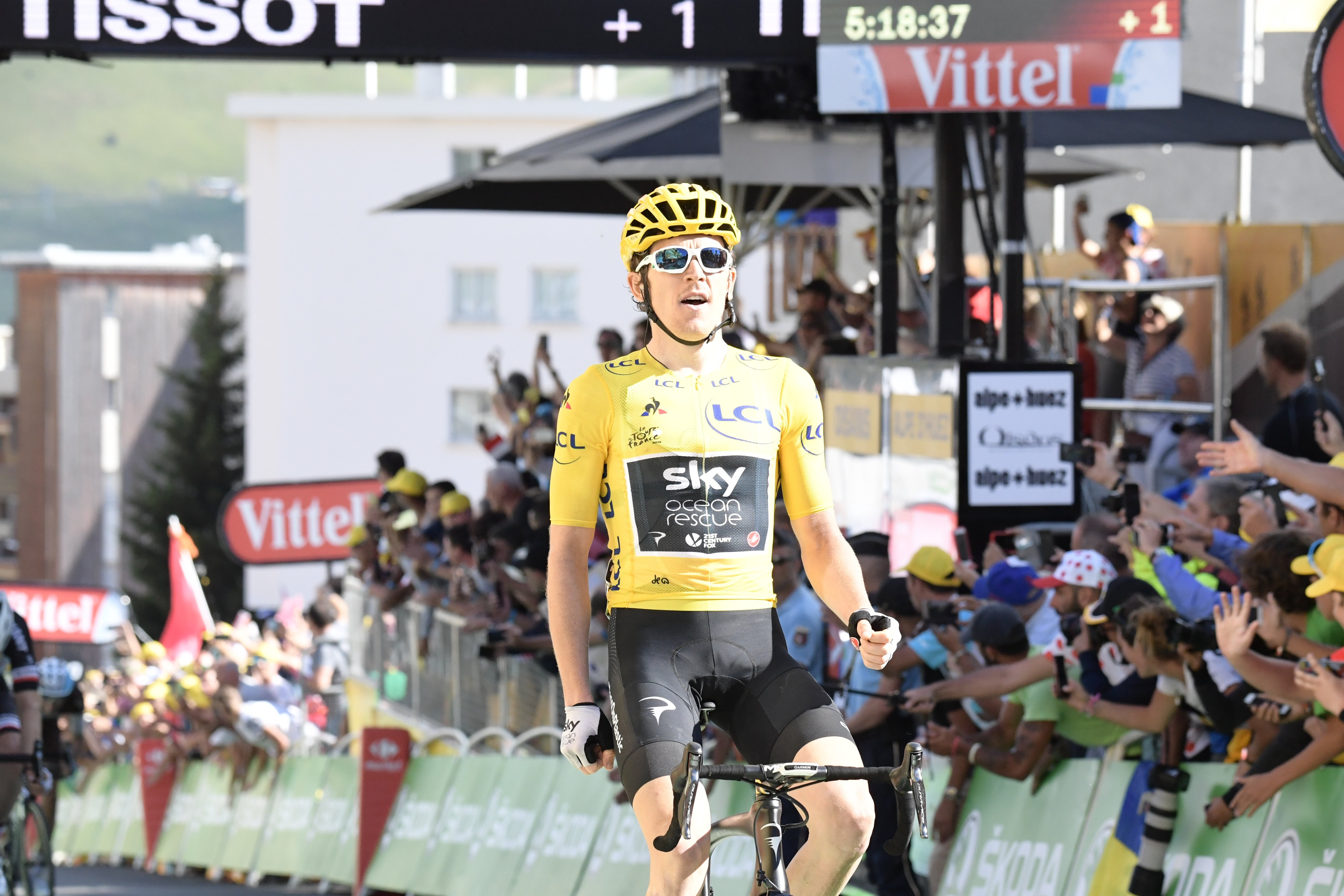 5527343f3 Tour de France Stage 12  Thomas wins again on Alpe d Huez