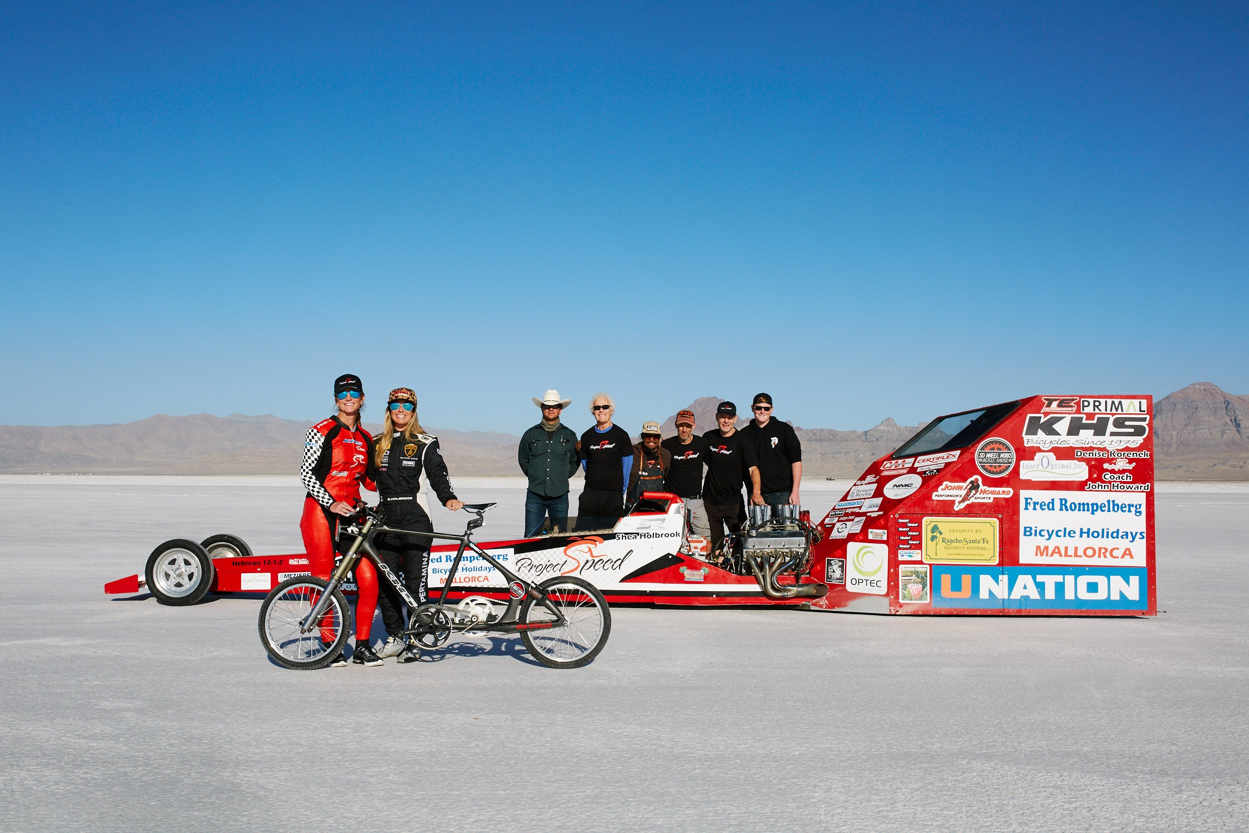 Land Speed Record >> Denise Mueller Korenek: Fastest human on a bicycle photos ...