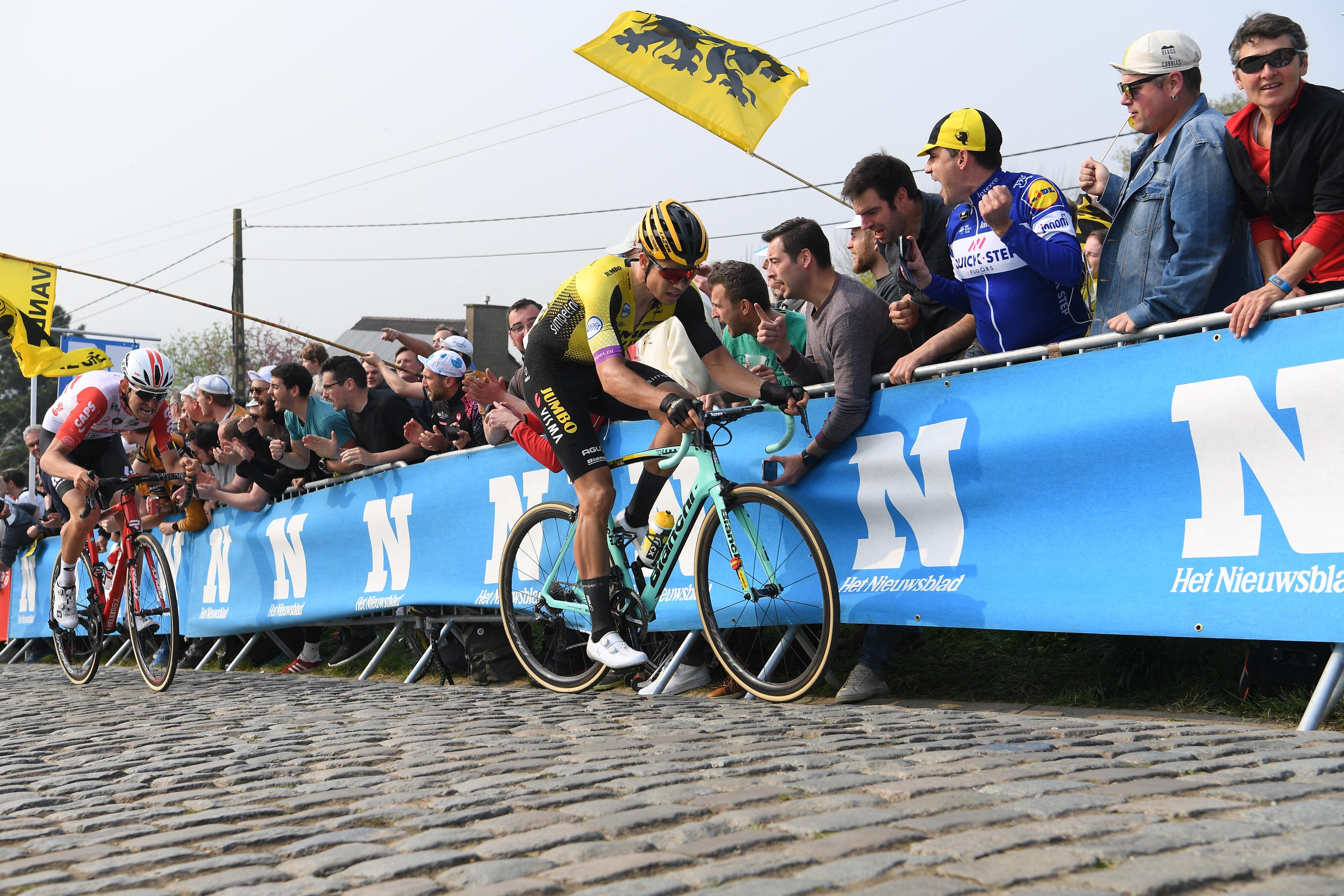 No Primoz Roglic For Tour De France As Wout Van Aert Makes Grand Tour Debut Cyclist