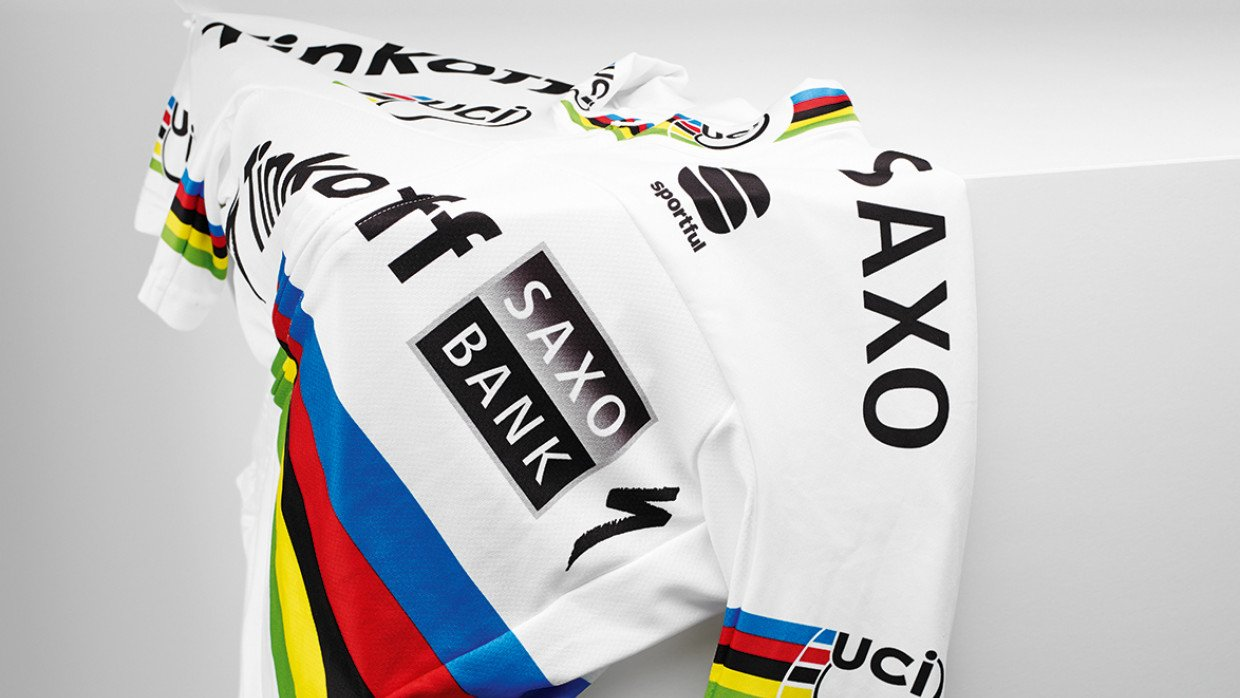 6659a52ab08 How it's made: Peter Sagan's World Champs jersey | Cyclist
