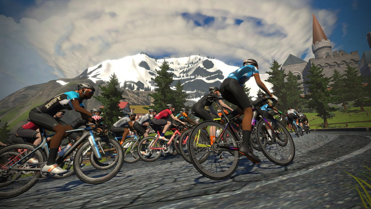 Tour de Zwift' attracts over 100,000 worldwide users as virtual app