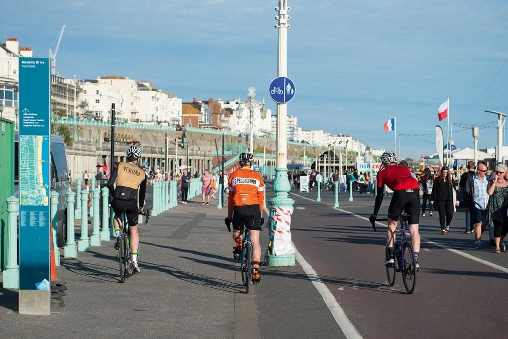 Cycling London to Brighton  ride 824c984a5