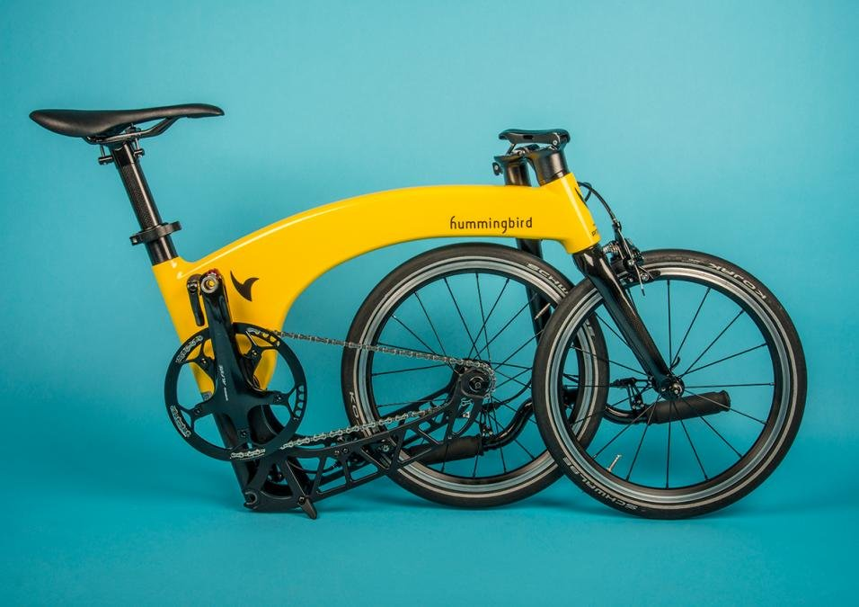 Hummingbird review: The world's lightest carbon folding bike