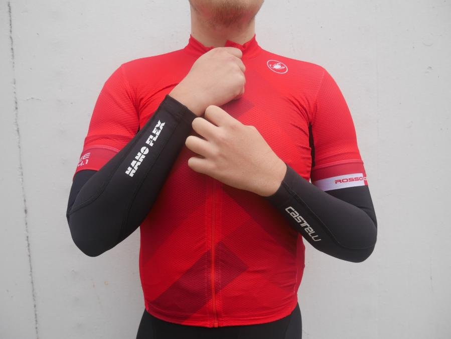 9f23a12f0b Castelli Nano Flex+ armwarmers review. Image 1 of 5