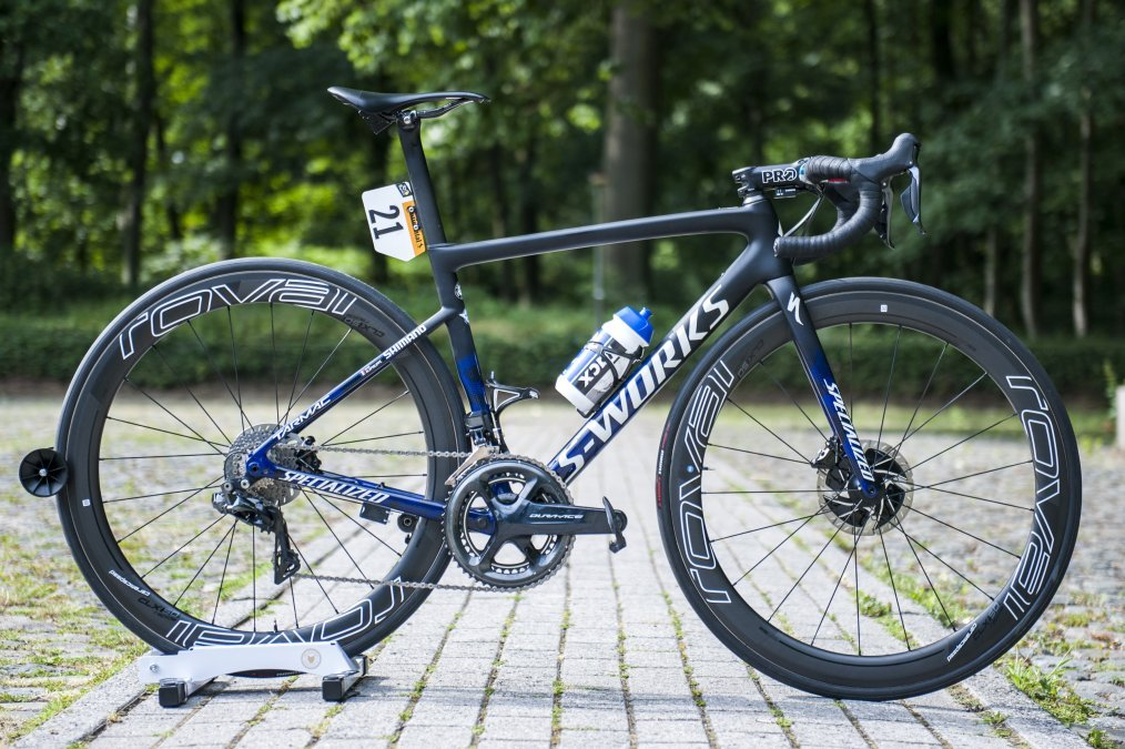 Bikes Of The Tour De France Julian Alaphillipe S S Works Tarmac Disc Cyclist