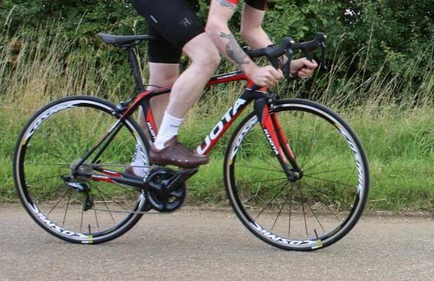 dfbc70c97e3 Get it on a smooth stretch of road, however, and the feeling of connection  to the tarmac compels you to lay down some serious wattage.